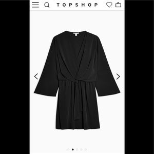 Topshop Dresses - Topshop Tiffany Knot Mini Dress NWOT